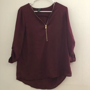 Charlotte Russe blouse top